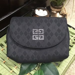 Givenchy Black Designer Make Up Bag